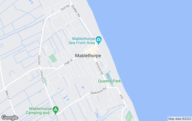 Map for Choice Properties, Mablethorpe