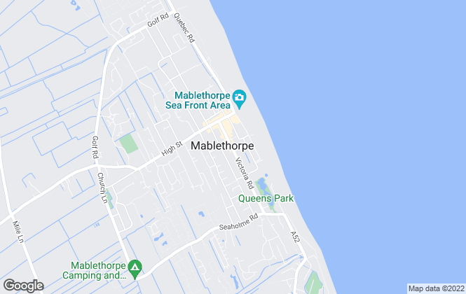 Map for Willsons, Mablethorpe