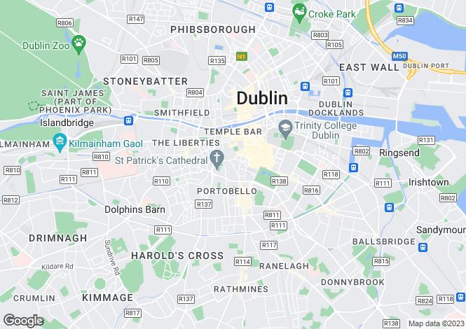 Map for 48 Adelaide Square, Whitefriar Street, Dublin 8, South City Centre - D8, Dublin 8