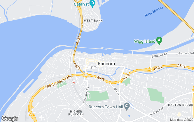 Map for YOUR MOVE Andrew Hayes, Runcorn