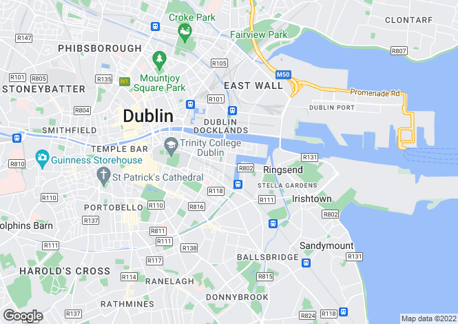 Map for 20 Block 11, Gallery Quay, Grand Canal Dock, Dublin 2, D02 NA00
