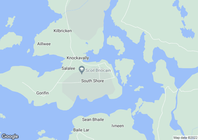 Map for Rosmuck, Galway