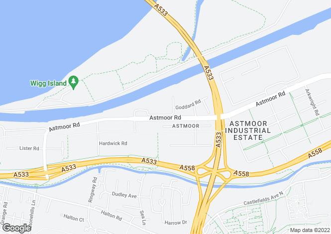 Map for The Harbour at The Deck, Mersey Road,