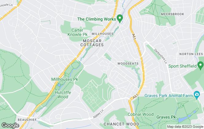 Map for LivinSheffield, Sheffield