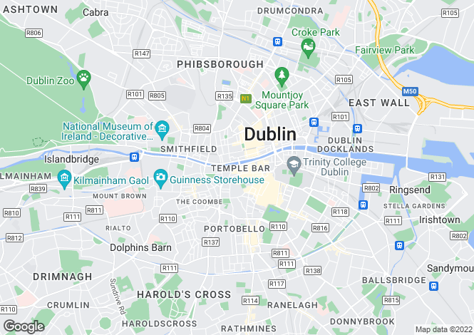 Map for Isoldes Tower, East Essex Street, Temple Bar, Dublin 2