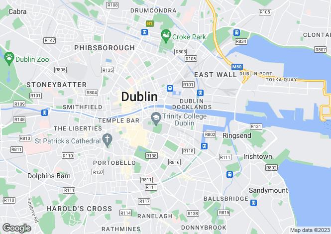 Map for 63 Hyde Court, Townsend Street, Dublin 2