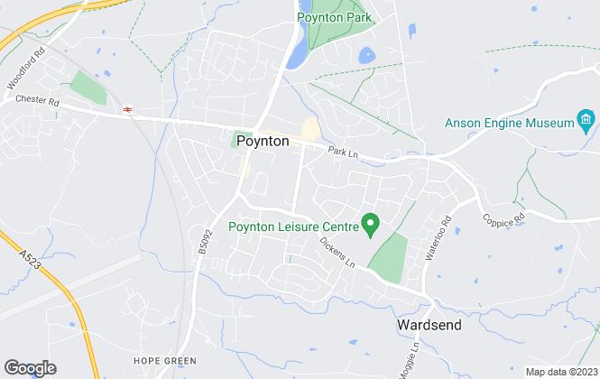 Map for Titanium Real Estate Advisors Limited, Poynton