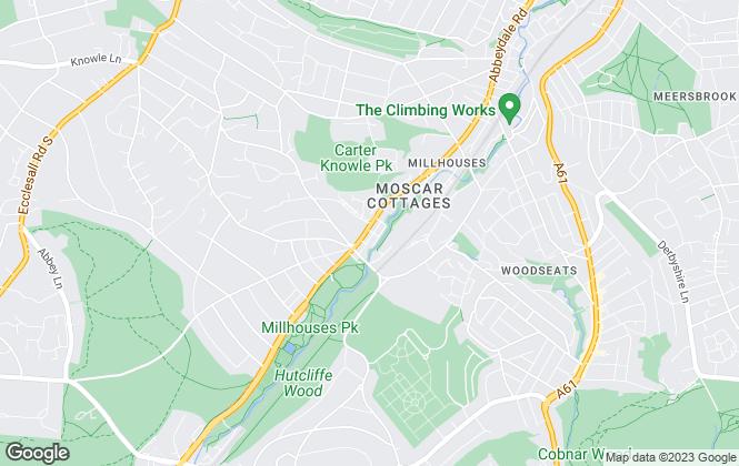 Map for Redbrik, Millhouses, Sheffield