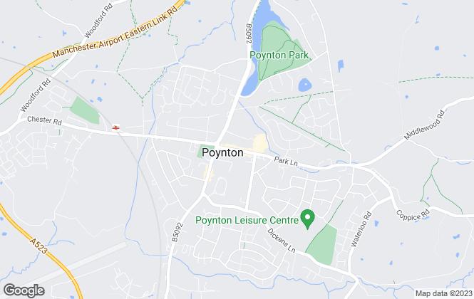 Map for Andrew Snape, Poynton