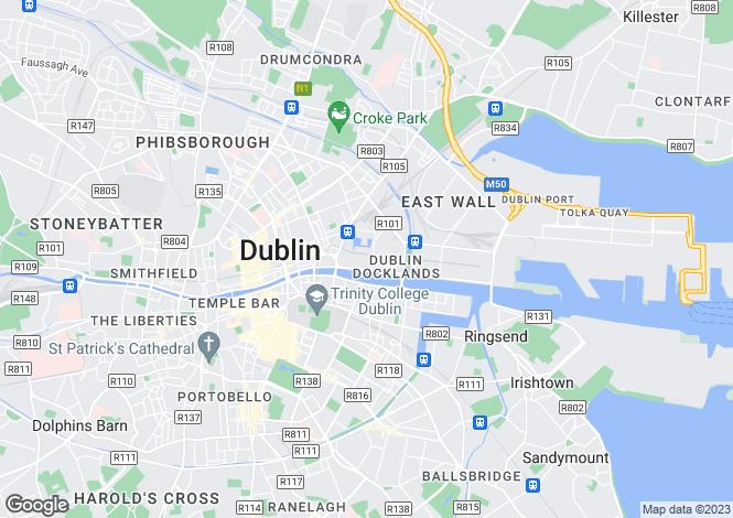 Map for Block 6, Clarion Quay, IFSC, Dublin 1