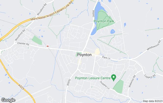 Map for Gascoigne Halman, Poynton