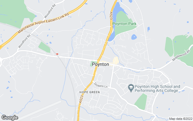 Map for Gascoigne Halman, Poynton