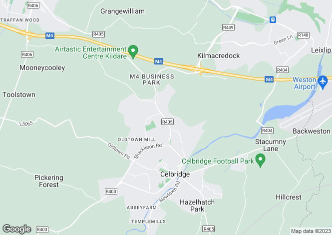 Map for Glyndale, Celbridge, Co. Kildare., W23 NV62