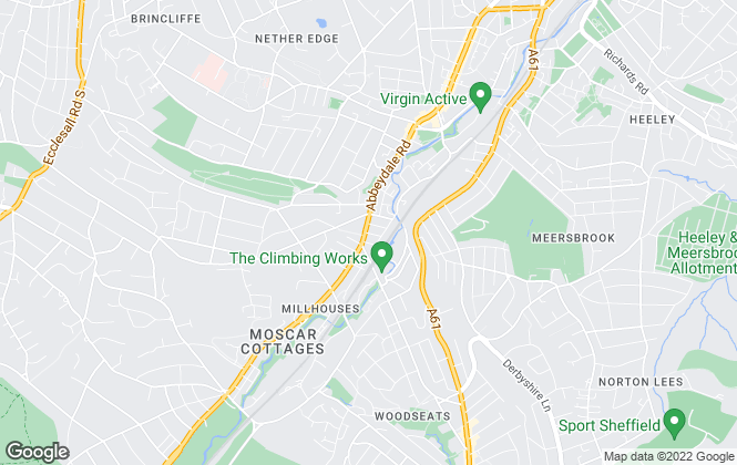 Map for Bloor & Co Estate Agents, Sheffield