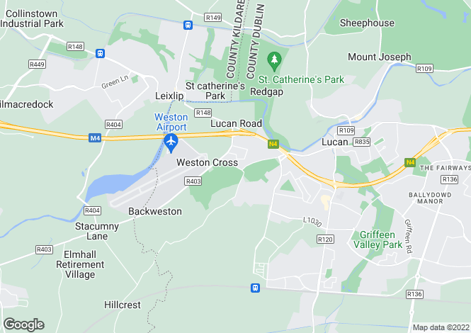 Map for 4 Cnoc Aoibhean, Celbridge Road, Lucan, Co. Dublin, K78 P8Y0