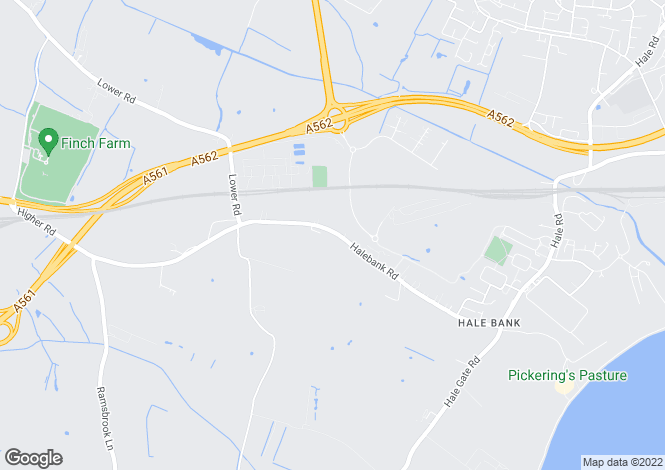 Map for Halebank Road, Widnes, WA8