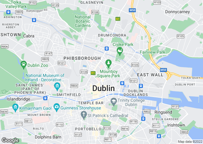 Map for 49 North Great Georges Street, Dublin 1