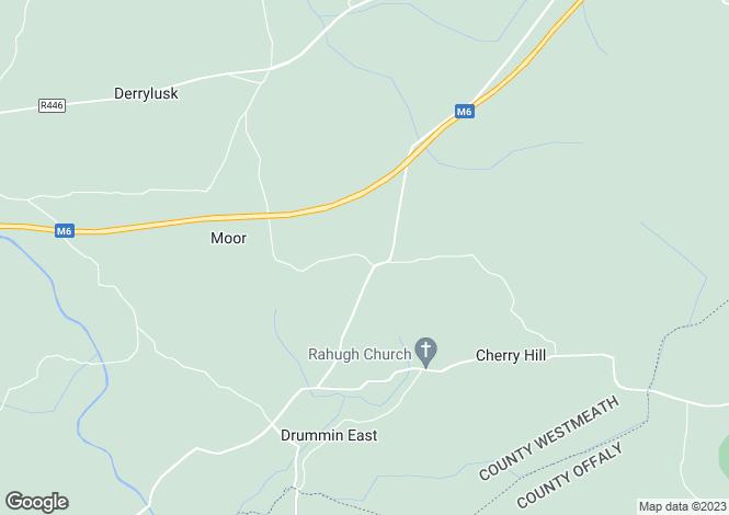 Map for Longhill Stud and Stables, Cappanrush Rahugh, Kilbeggan, Co Westmeath