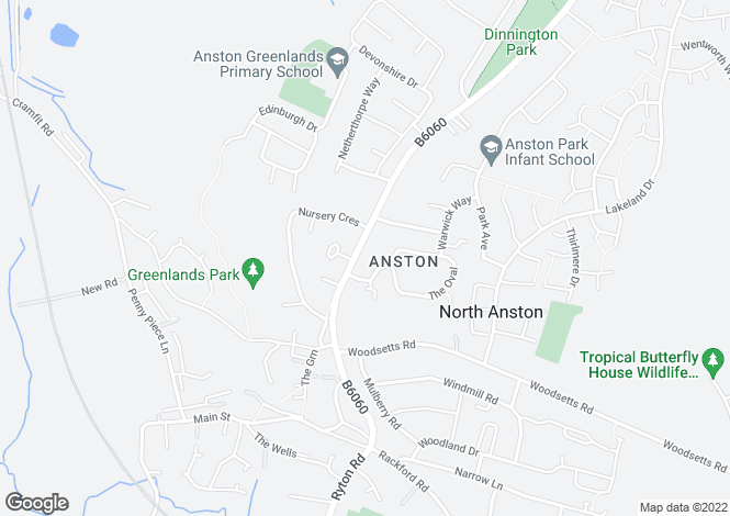 Map for 3 Nursery Road