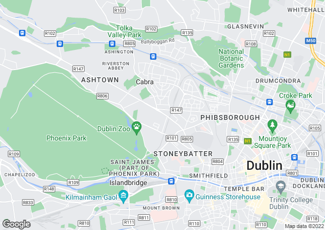 Map for 15 Earls Court, South City Centre, Dublin 8