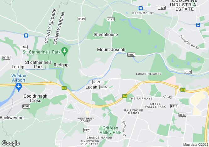 Map for 3A Millbank Lower, Lower Lucan Road, Lucan, Dublin