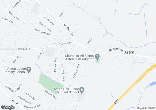 Map for Chatsworth Close,