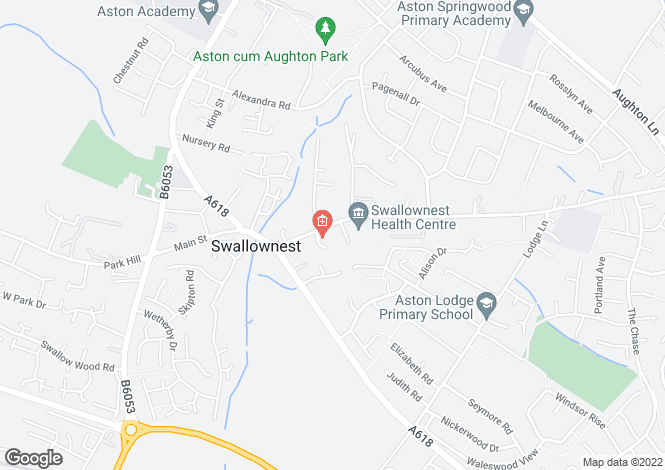 Map for Worksop Road,