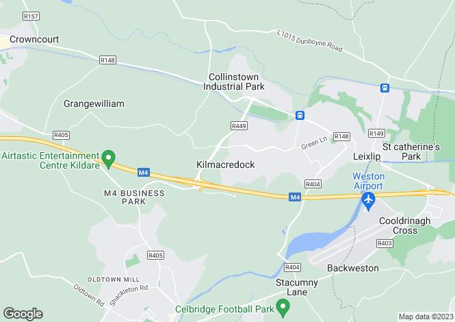 Map for 85 Beechpark, Leixlip, Co. Kildare