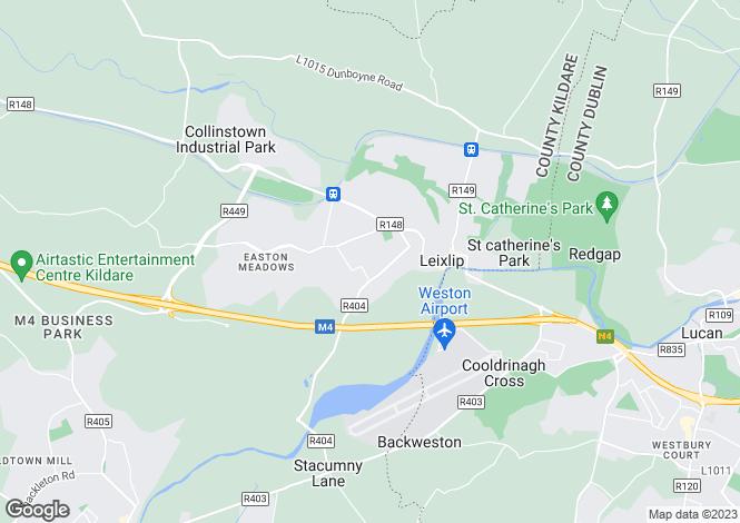Map for 88 Castletown, Leixlip, Co. Kildare