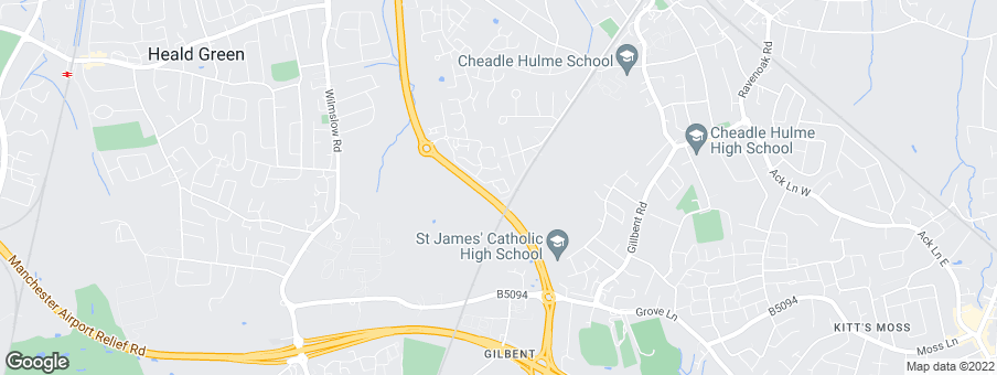 Map for Johnnie Johnson Housing