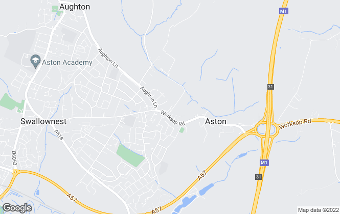 Map for Coe Properties, Aston