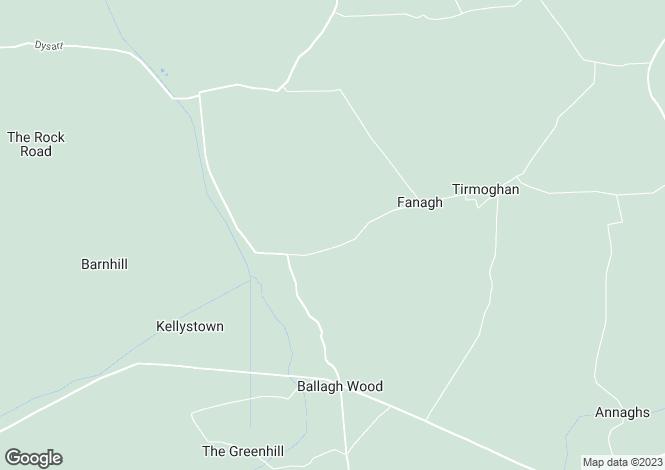 Map for Hortland, Donadea, Co. Kildare