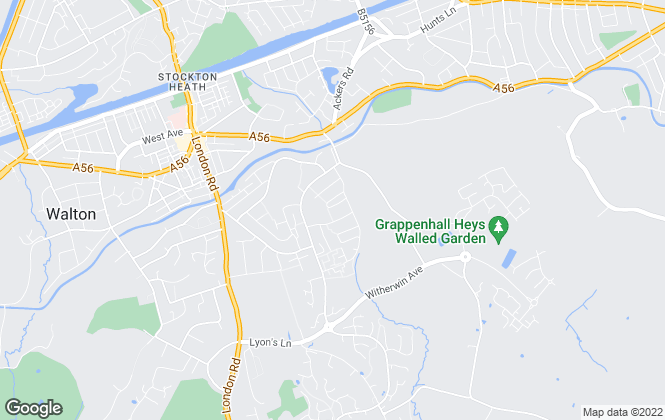Map for Let Pages, Warrington