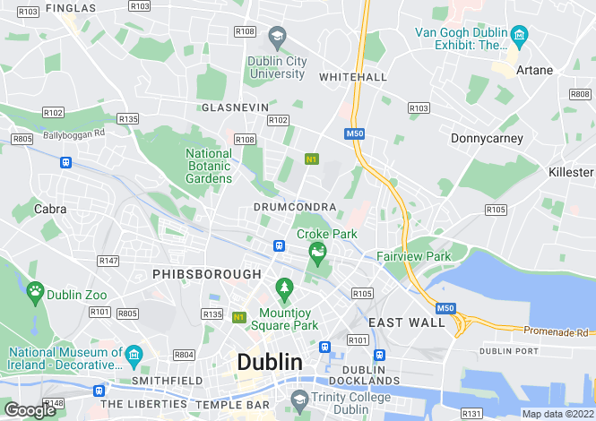 Map for Riversdale House, 139 Lower Drumcondra Road, Drumcondra, Dublin 9