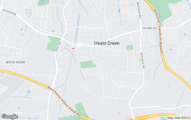 Map for Cherry Picked Properties, Heald Green