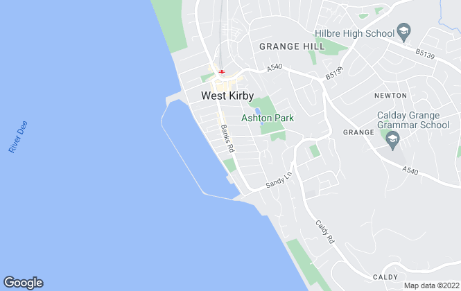 Map for Key Residential, Wirral