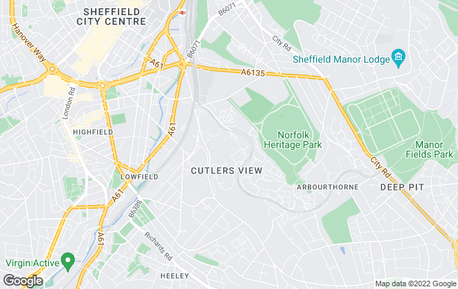 Map for Blundells, Queens Tower - Lettings
