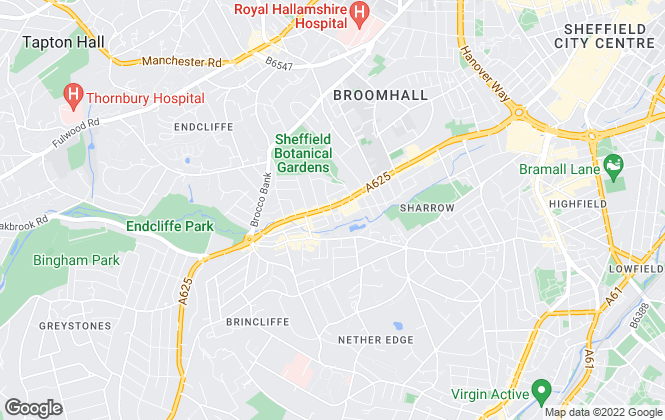 Map for Spencer The Estate Agent, Sheffield