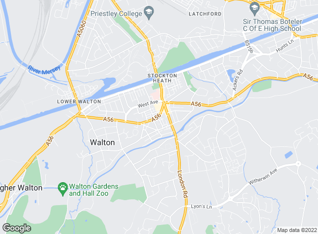 Map for AshcroftGuest, Stockton Heath