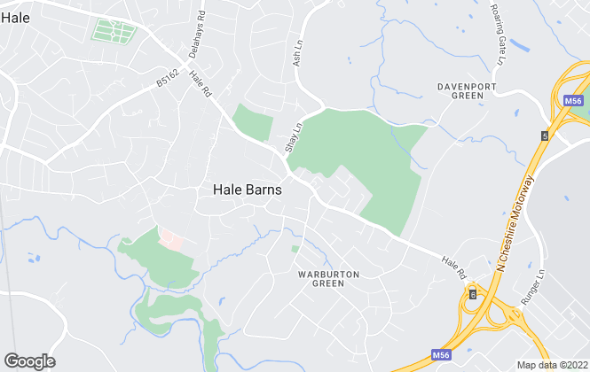 Map for Ian Macklin, Hale Barns