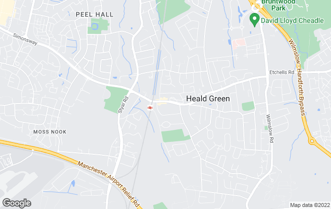 Map for Callaghans, Heald Green