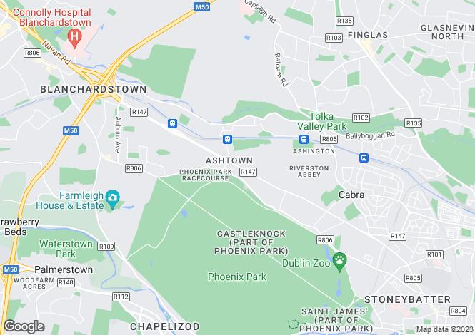 Map for 34 The Paddock, Blackhorse Avenue, Dublin 7, D07 CK12