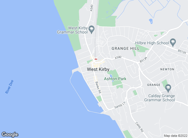 Map for Karl Tatler Estate Agents, West Kirby