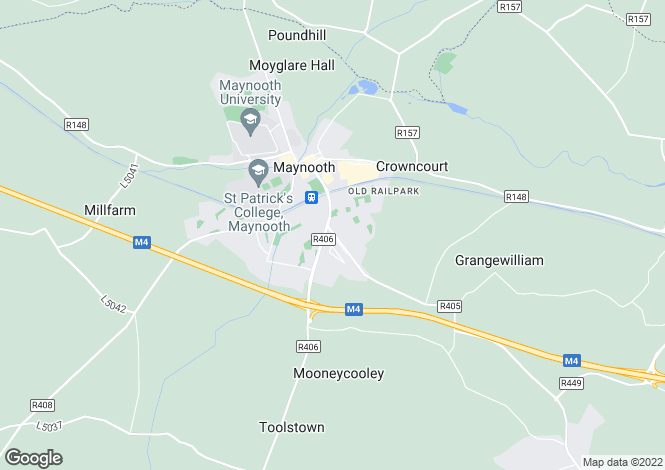 Map for Celbridge Road, Maynooth, Co. Kildare