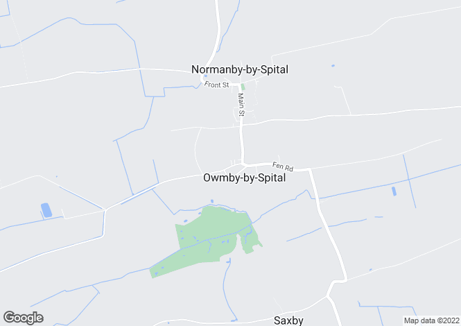 Map for Owmby Cliff Road, Owmby By Spital, LN8
