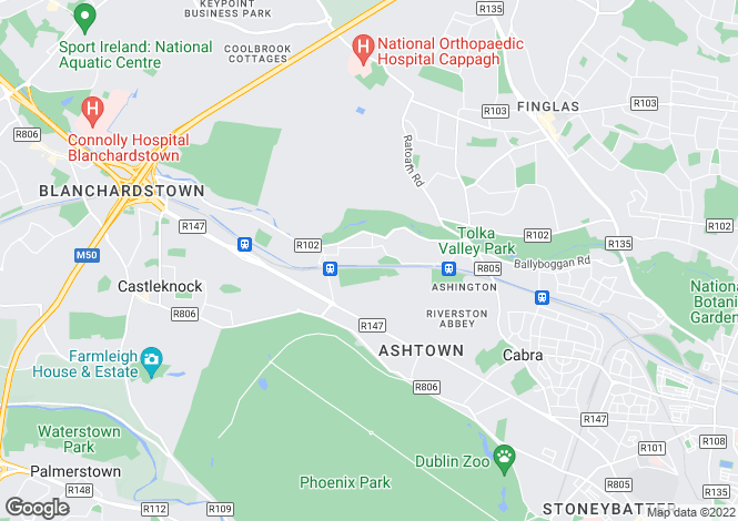 Map for Royal Canal Court, Ashtown, Dublin 15