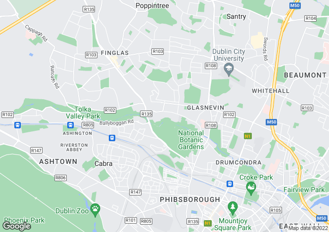 Map for 13 Cremore Lawn, Glasnevin, Dublin 11, D11 Y7P8
