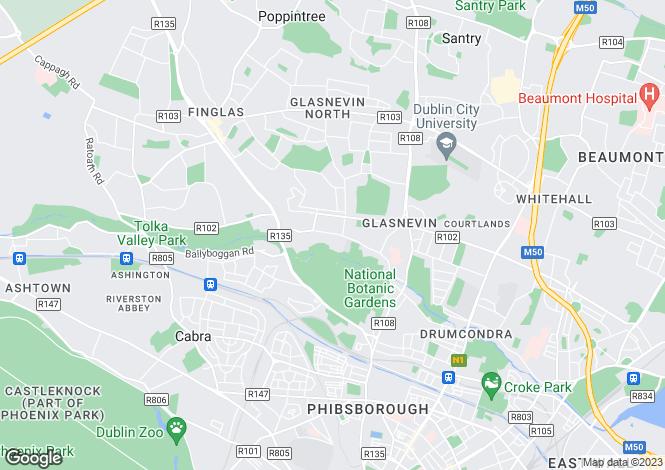 Map for 2 Addison Avenue, Addison Park, Glasnevin, Dublin 11, D11 W446