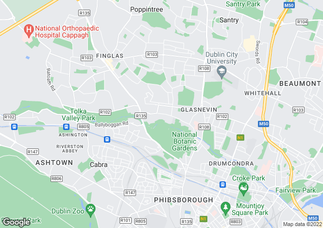 Map for 109 Cremore Lawn, Old Finglas Road, Glasnevin, Dublin 11