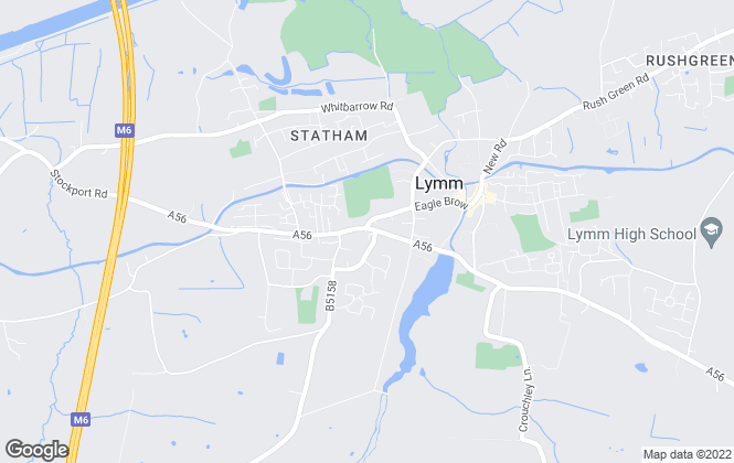 Map for Admove, Lymm